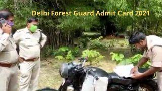 Delhi Forest Guard Admit Card 2021: कल जारी होगा दिल्ली फॉरेस्ट गार्ड का Admit Card, इस डायरेक्ट लिंक से कर सकते हैं डाउनलोड