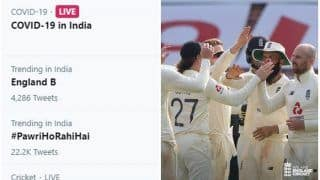 Why 'England B' is Trending on Twitter?