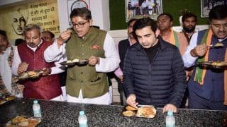 Gautam Gambhir Launches Second 'Jan Rasoi' Canteen in Delhi to Feed Poor, Twitterverse Heaps Praise on Former India Cricketer And BJP MP