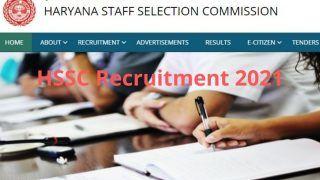 HSSC Recruitment 2021: हरियाणा SSC में इन पदों पर निकली बंपर वैकेंसी, आज से आवेदन प्रक्रिया शुरू, लाखों में मिलेगी सैलरी