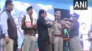 International Sprinter Hima Das असम पुलिस में DSP पद पर नियुक्त, वर्दी में यूं आईं नजर