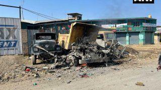 Jammu & Kashmir:Terrorists ने अनंतनाग में CRPF वाहन को निशाना बनाने किया IED Blast