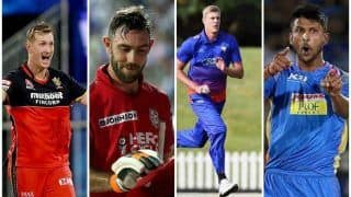 IPL Auction: Chris Morris, Krishnappa Gowtham to Glenn Maxwell, Kylie Jamieson, Most Expensive Players Bought