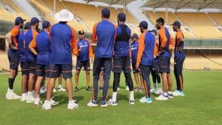 Ravi Shastri Addresses Virat Kohli & Co as Team India Begin Net Session Ahead of 1st Test at Chennai vs England | PIC