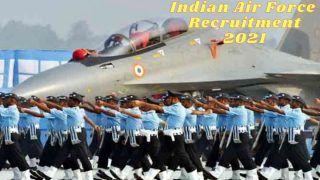 Indian Air Force Recruitment 2021: 12वीं पास के लिए भारतीय वायु सेना में अप्लाई करने के बचे हैं कुछ दिन, जल्द करें आवेदन
