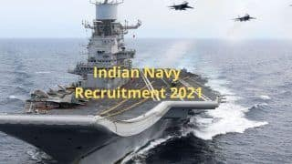 Indian Navy Recruitment 2021: Over 1,100 Vacancies Notified For Tradesman | Check Eligibility, Other Details