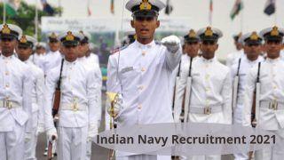Indian Navy Recruitment 2021: भारतीय नौसेना में नौकरी करने का सुनहरा मौका, 10वीं, 12वीं पास के लिए  इन पदों पर निकली वैकेंसी, जल्द करें आवेदन