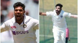 Jasprit Bumrah's Replacement in India's Playing 11 For 4th Test: Umesh Yadav/Mohammed Siraj in Line to Feature