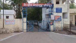 Jodhpur Central jail में छापे  में 17 Mobile phone, 18 sim जब्त,  तस्करी में 10 लोग अरेस्ट