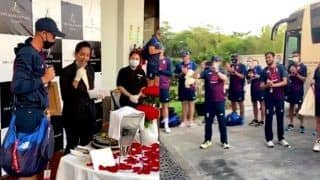 ECB Thank India For Hospitality After Hotel Staff Welcome Joe Root With a Cake Following Record Double Century at Chennai | WATCH VIDEO