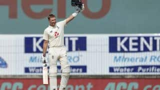 India vs England 1st Test Report: Joe Root Slams Historic Double Ton as Visitors Post Massive 555/8 on Day 2