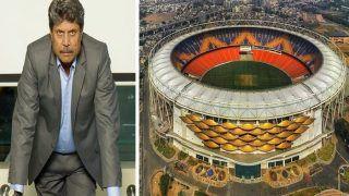 मोटेरा का नाम नरेंद्र मोदी स्टेडियम रखे जाने पर यह बोले- Kapil Dev