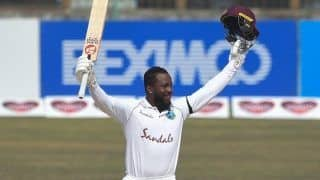 BAN vs WI: Kyle Mayers Joins Sunil Gavaskar, Gordon Greenidge in Elite List, Scores Double Century And Breaks Multiple Records on Test Debut