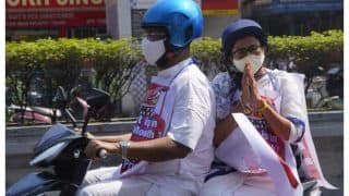 To Protest Petrol Price Hike, Mamata Banerjee Takes Electric Scooter To Office | VIDEO