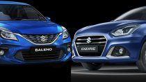 Maruti Swift Dzire vs Maruti Baleno: मारुती स्विफ्ट डिजायर बनाम बलेनो में कौन सी कार है बेहतर, जानिए On Road Price, Features और Mileage