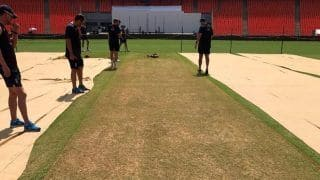 Motera Pitch Likely to Escape ICC 'Red Eye' as 4th Test Strip Promises to be Batting Beauty