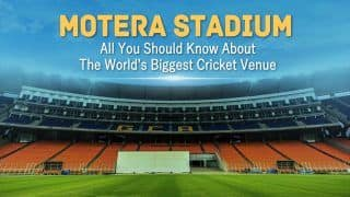 Motera Stadium: India vs England, All You Should Know About The World   s Biggest Cricket Venue