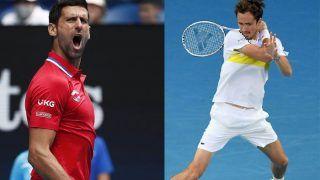 Australian Open: Novak Djokovic की नजरें 18वें ग्रैंडस्लैम पर, मेदवेदेव से भिड़ंत