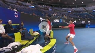 Novak Djokovic Loses Cool Again, Slams His Tennis Racquet After Germany Beat Serbia in ATP Cup Tie | WATCH VIDEO