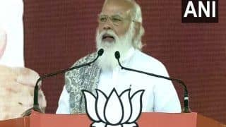 सीएम ममता पर जमकर बरसे पीएम मोदी, बोले-टीएमसी और दूसरे दलों के बीच ''मैच फिक्स' लोग 'राम कार्ड' दिखाकर TMC को अलविदा कहेंगे