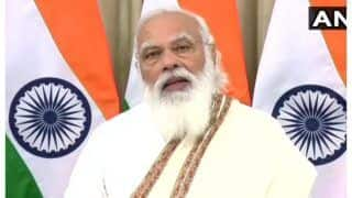 PM Modi's Brother Prahlad Modi Stages Sit-in at Lucknow Airport After Police Stop His Supporters