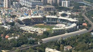 India vs England 2021: PM Narendra Modi Turns Photographer, Shares Spectacular View of Chepauk During Chennai Visit