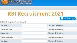 RBI Recruitment 2021: 10वीं पास के लिए भारतीय रिजर्व बैंक में इन पदों पर अप्लाई करने की कल है आखिरी तारीख, इस Direct Link से जल्द करें आवेदन