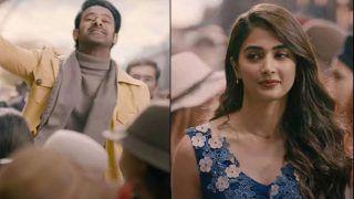 Radhe Shyam Teaser: Valentine's Day पर आया Prabhas-Pooja की फिल्म 'राधे श्याम' का टीजर, प्यार की दिखेगी नई कहानी...देखें Viral Video