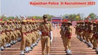 Rajasthan Police SI Recruitment 2021: RPSC ने राजस्थान पुलिस में सब इंस्पेक्टर के पदों पर निकाली बंपर वैकेंसी, इस दिन से करें आवेदन