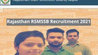 Rajasthan RSMSSB Recruitment 2021: राजस्थान स्टाफ सेलेक्शन बोर्ड में इन 882 पदों पर निकली वैकेंसी, इस Direct Link से कर सकते हैं आवेदन