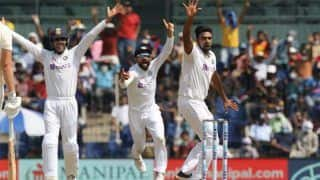 India vs England 2nd Test Day 2 Report: Ravichandran Ashwin's 29th Five-For Puts India in Command, Lead England by 249 Runs
