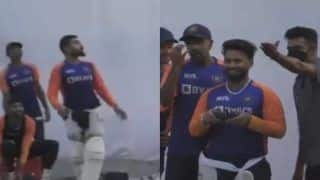 India vs England 3rd Test: Rishabh Pant Tries The Drone Ahead of Pink-Ball Test at Motera, Virat Kohli Gets Scared | WATCH VIDEO
