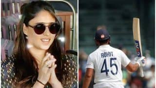 'Valentine's Day Gift' - Fans Thank 'Lucky Charm' Ritika After Rohit Slams Ton