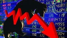 Stock market update: शेयर बाजार पर टूटा कोरोना का कहर, 500 अंक लुढ़का सेंसेक्स