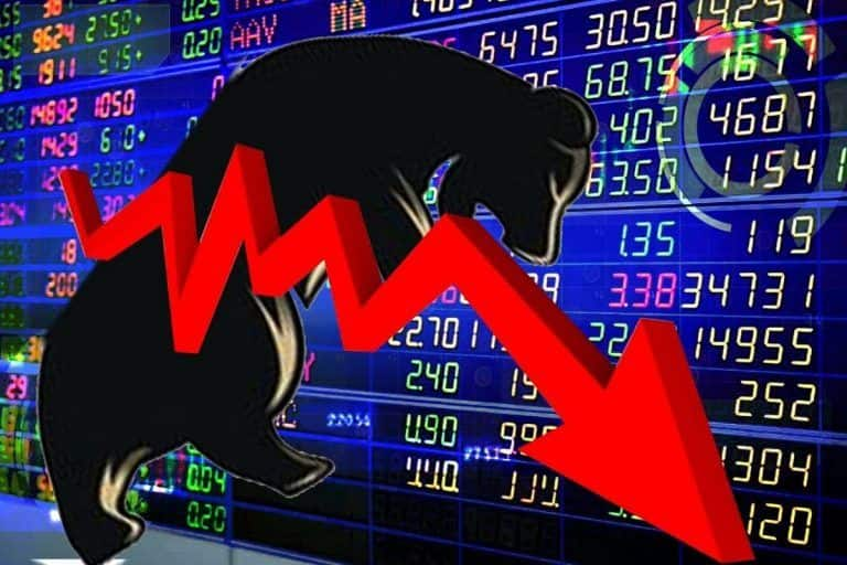 Stock market: शेयर बाजार की तेजी पर लगा ब्रेक, सेंसेक्स 750 अंक टूटा, 200 अंकों से ज्यादा गिरा निफ्टी