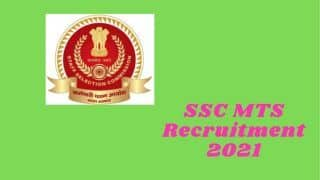 SSC MTS Recruitment 2021: Notification Released, Online Application Begins at ssc.nic.in | Complete Details Here