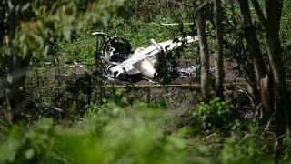6 Killed in Air Force Plane Crash in Mexico's Veracruz