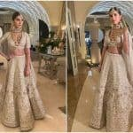 Tara Sutaria in Rs 3,10,000 Ivory Lehenga is Epitome of Elegance And Grace