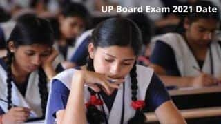 UP Board Exam 2021 Datesheet: Class 10th, 12th Exam to Begin From April 24 | Check Time Table Here