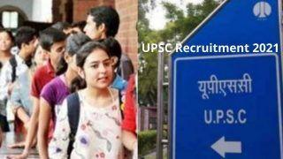 UPSC Recruitment 2021: भारत सरकार के इन मंत्रालयों में ऑफिसर बनने का सुनहरा मौका, बिना एग्जाम होगा सेलेक्शन, लाखों में मिलेगी सैलरी