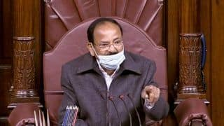 Why Venkaiah Naidu Said He Felt 'Really Sad Today' In Parliament