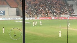 WATCH | Kohli Fan BREACHES Security at Motera, India Captain's Reaction is Priceless