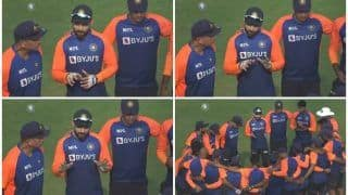 Ind vs Eng, 1st Test: Virat Kohli Gives Pep Talk to Indian Team Ahead of Day 2 in Chennai | WATCH VIDEO