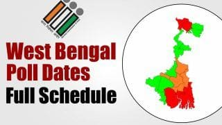 West Bengal Election 2021 Dates: 8 Phase-Polling to Start on March 27, Results on May 2   Check Full Schedule