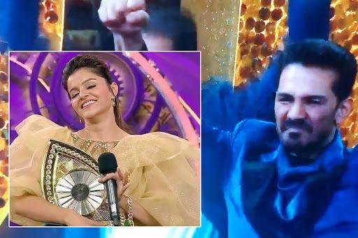 Image result for Bigg Boss 14 Winner Rubina Dilaik's Hubby Abhinav Shukla, Rashami Desai And Her Fans Give Big Shout Out To Her