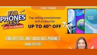 Amazon Fab Phone Fest 2021: अमेजन फिर से लेकर आई सेल, धांसू Smartphones पर मिलेंगे 40% तक छूट