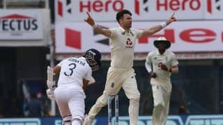 Ageing Like a Fine Wine: James Anderson Triple Strike Crushes India's Hope on Day 5 | Watch Video