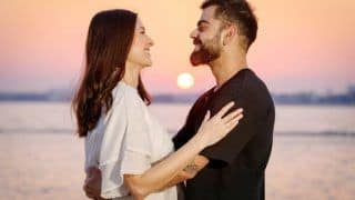 Anushka Sharma-Virat Kohli Share a Dreamy Sunset Picture to Mark Valentine's Day
