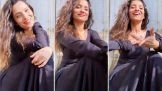 Ankita Lokhande Grooves To Madhuri Dixit's Song 'Are Re Are' And It Is Perfect To Wipe-off Your Mid-week Blues
