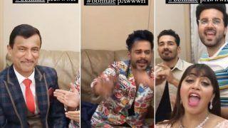 Abhinav Shukla, Shardul Pandit, Arshi Khan Along With Rubina Dilaik's Dad Go 'Pawri Ho Rahi Hai'   Watch Viral Video